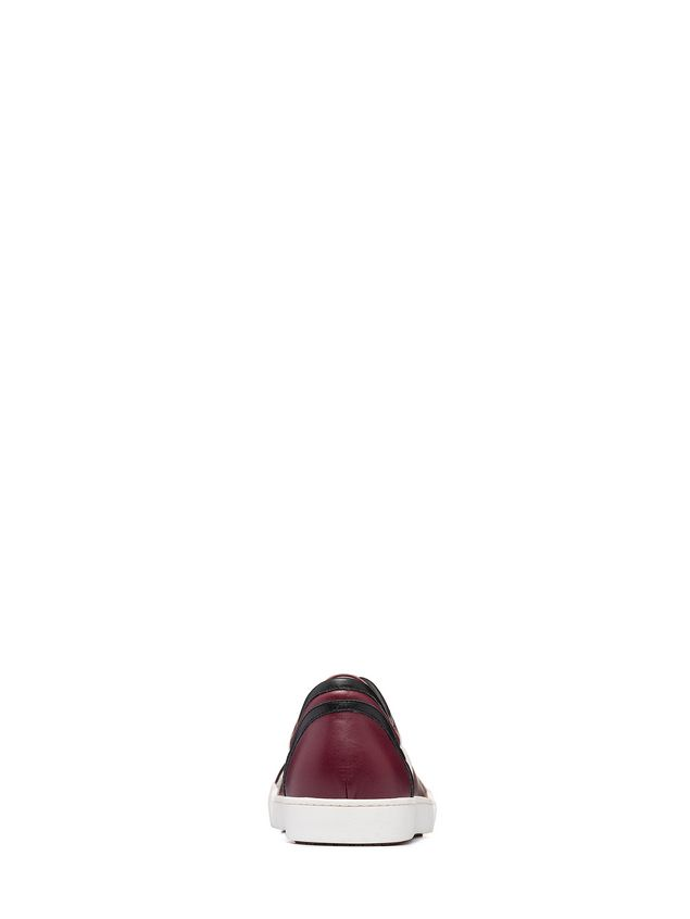 Marni Sneaker in calfskin with side patterns Man - 3