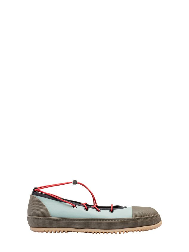 scarpe sportive eb6a9 2eb31 Ballerina Sneaker In Technical Fabric from the Marni Spring/Summer ...