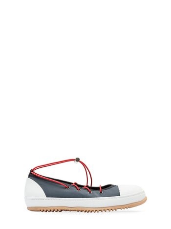 Marni Ballerina sneaker in gray fabric Woman