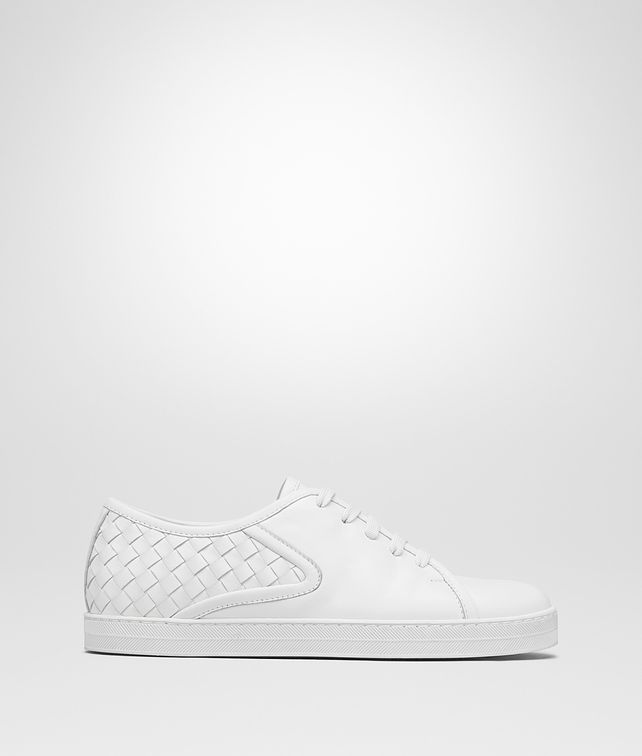 BOTTEGA VENETA SNEAKER CARMEL IN INTRECCIATO NAPPA BIANCO Sneakers [*** pickupInStoreShipping_info ***] fp
