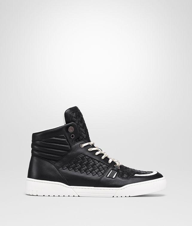 BOTTEGA VENETA NERO INTRECCIATO CALF HEEZE SNEAKER Sneakers Man fp