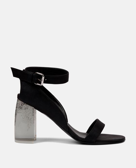 Plexi Heeled Sandal