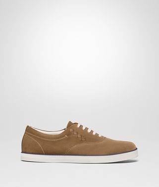 CAMEL SUEDE GLAX SNEAKER