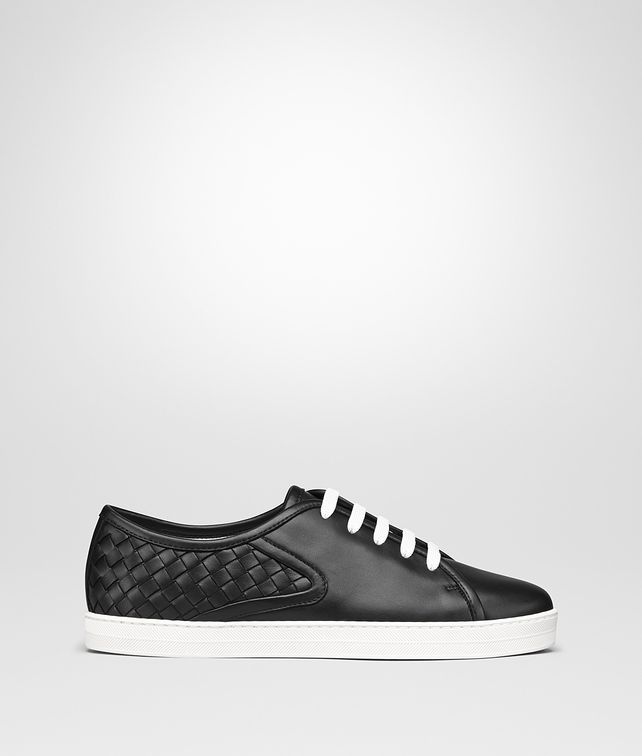 BOTTEGA VENETA SNEAKER CARMEL IN INTRECCIATO NAPPA NERO Sneakers [*** pickupInStoreShipping_info ***] fp