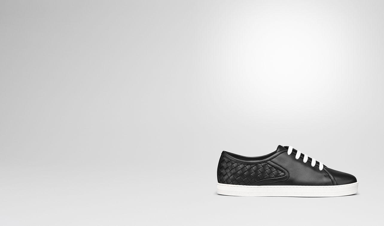 nero intrecciato nappa carmel sneaker landing