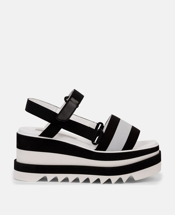 Striped Platform Slides