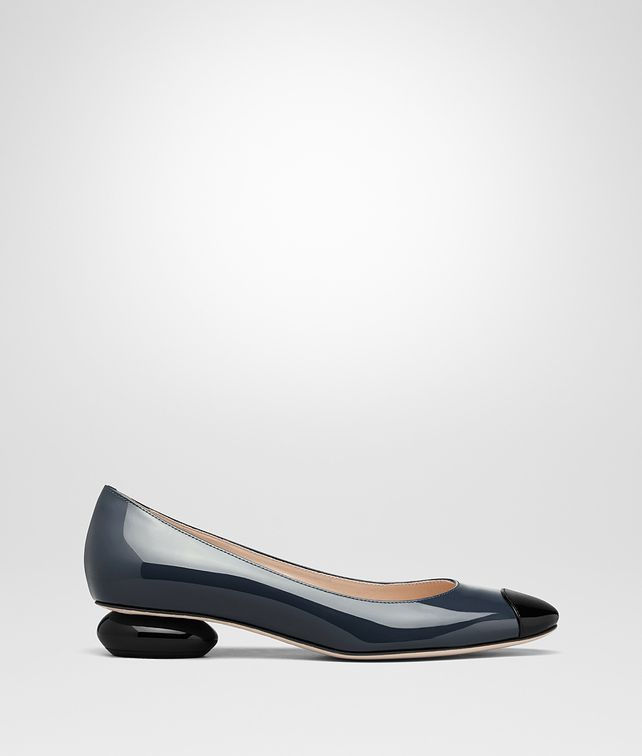 BOTTEGA VENETA DENIM PATENT CALF BETTE PUMP Pump Woman fp