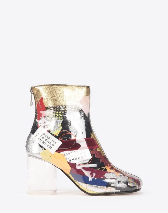MAISON MARGIELA Patchwork ankle boots Ankle boots Woman f
