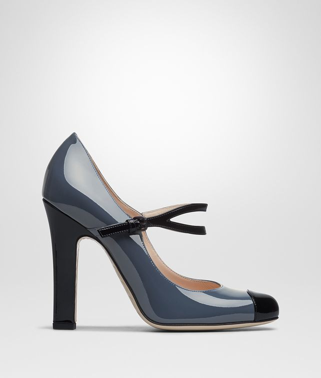 BOTTEGA VENETA DENIM PATENT CALF BETTE PUMP Pump or Sandal D fp