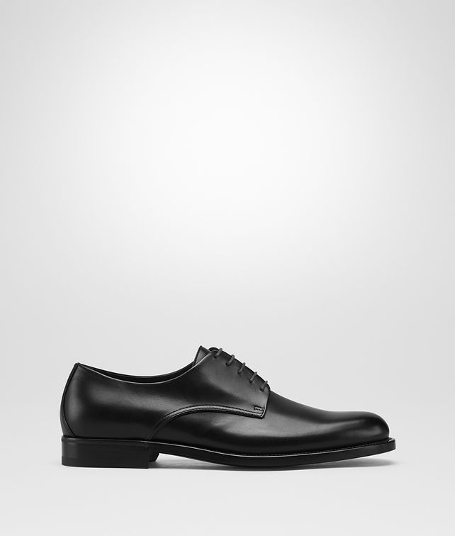 BOTTEGA VENETA NERO CALF LEONHARD SHOE Lace Up Man fp