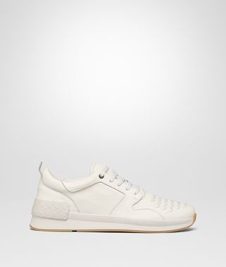 SNEAKER BV GRAND IN VITELLO LATTE