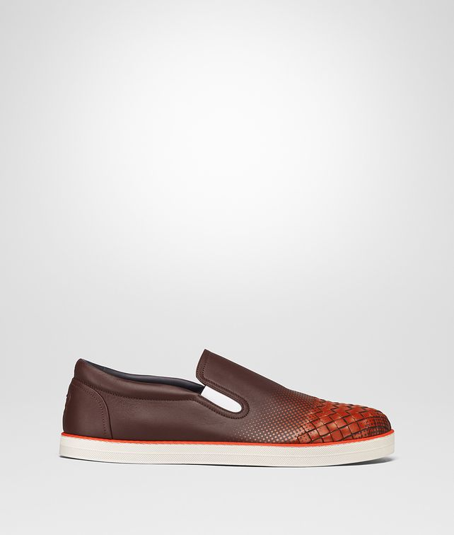 BOTTEGA VENETA DARK BAROLO NAPPA SAIL GALAXY SNEAKER Sneakers Man fp