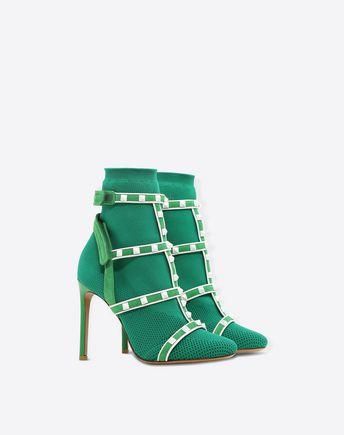 VALENTINO GARAVANI Bootie D Rockstud Ankle Boot r
