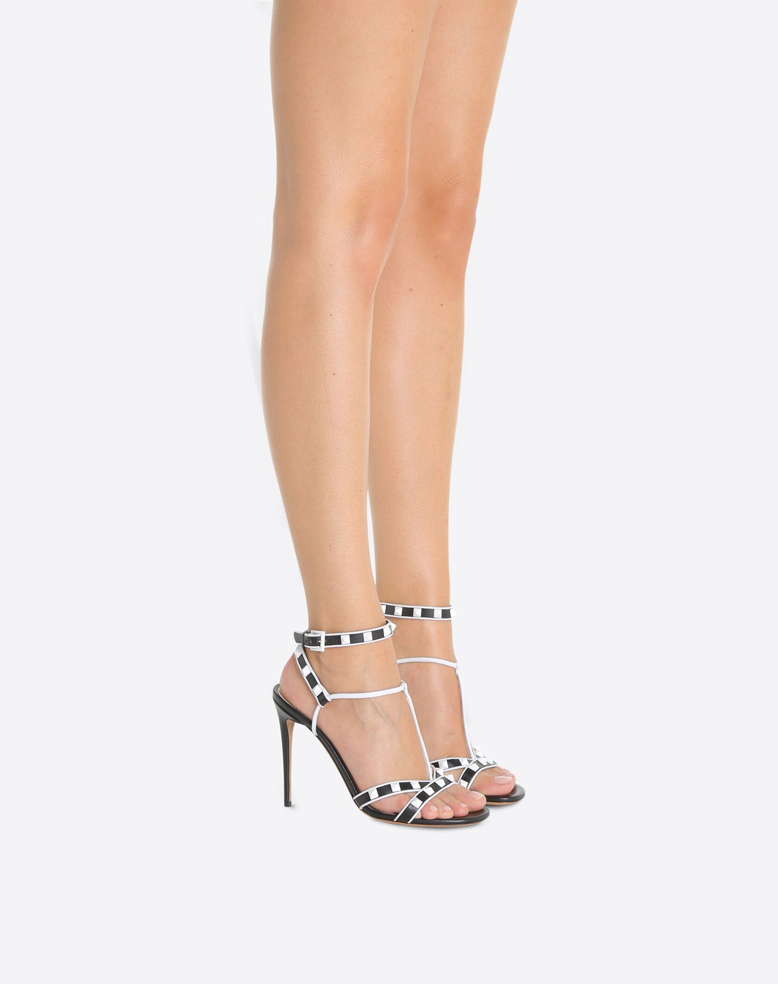 VALENTINO Free Rockstud 105mm Sandal Sandal D a