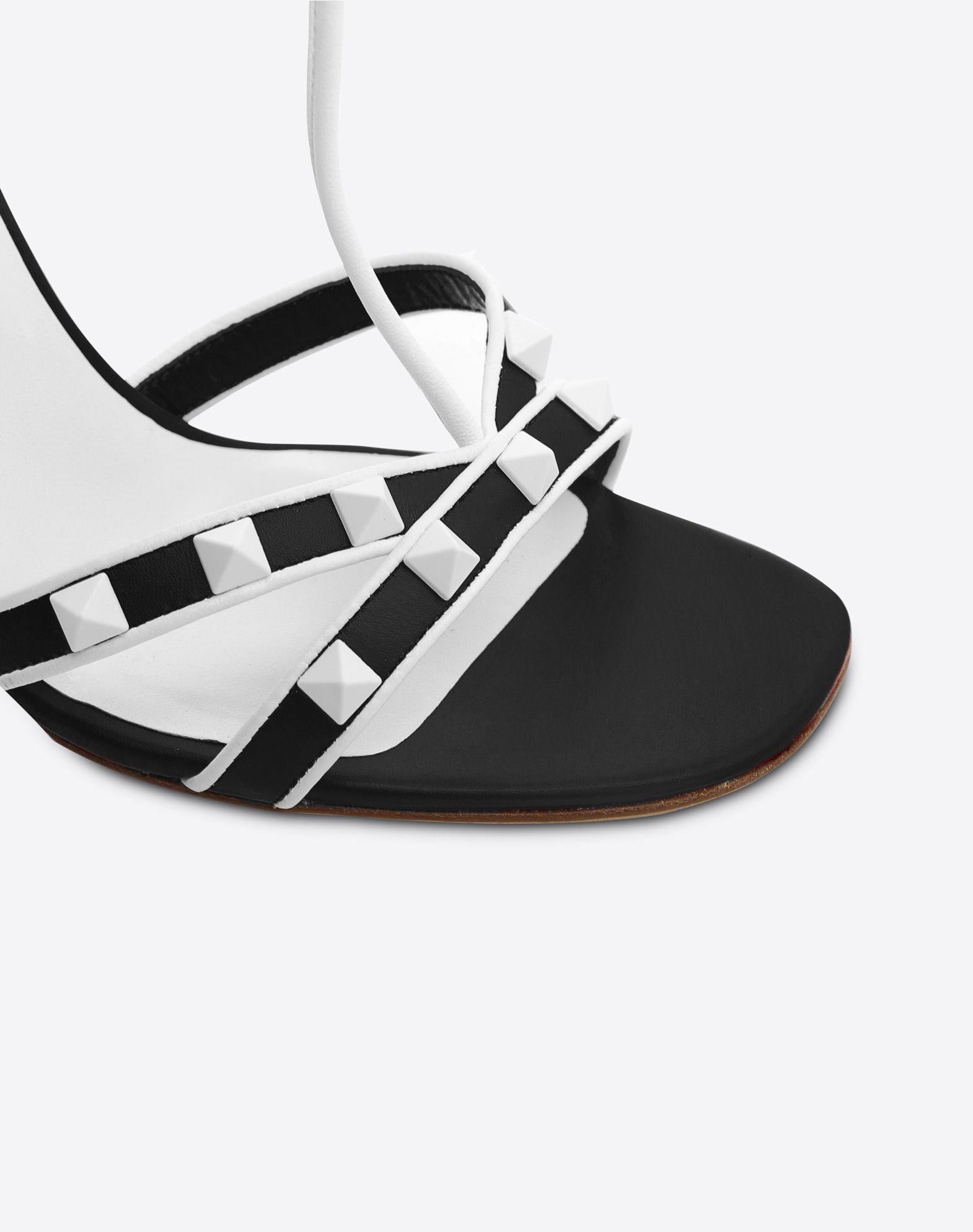 VALENTINO Free Rockstud 105mm Sandal Sandal D b
