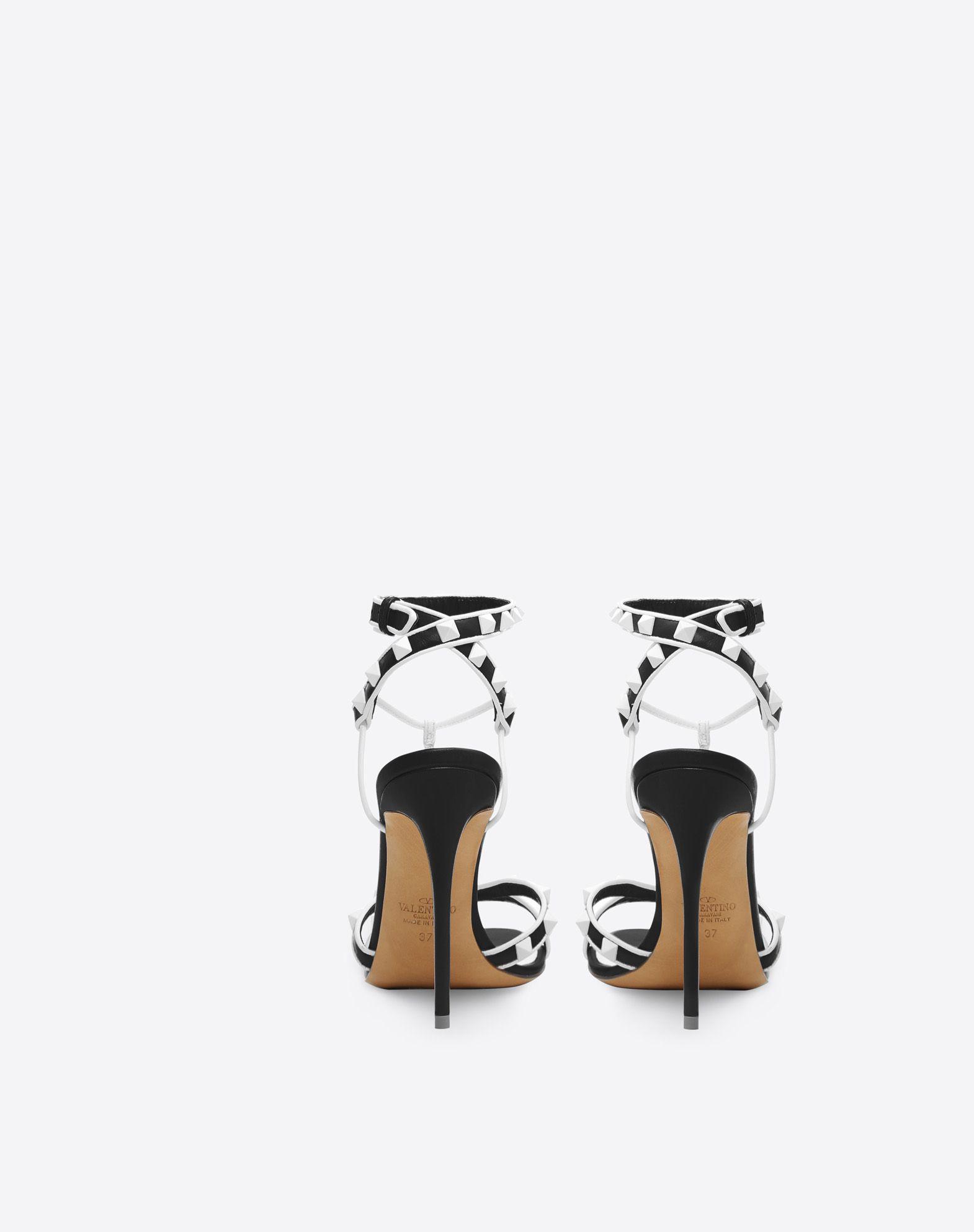 VALENTINO Free Rockstud 105mm Sandal Sandal D d