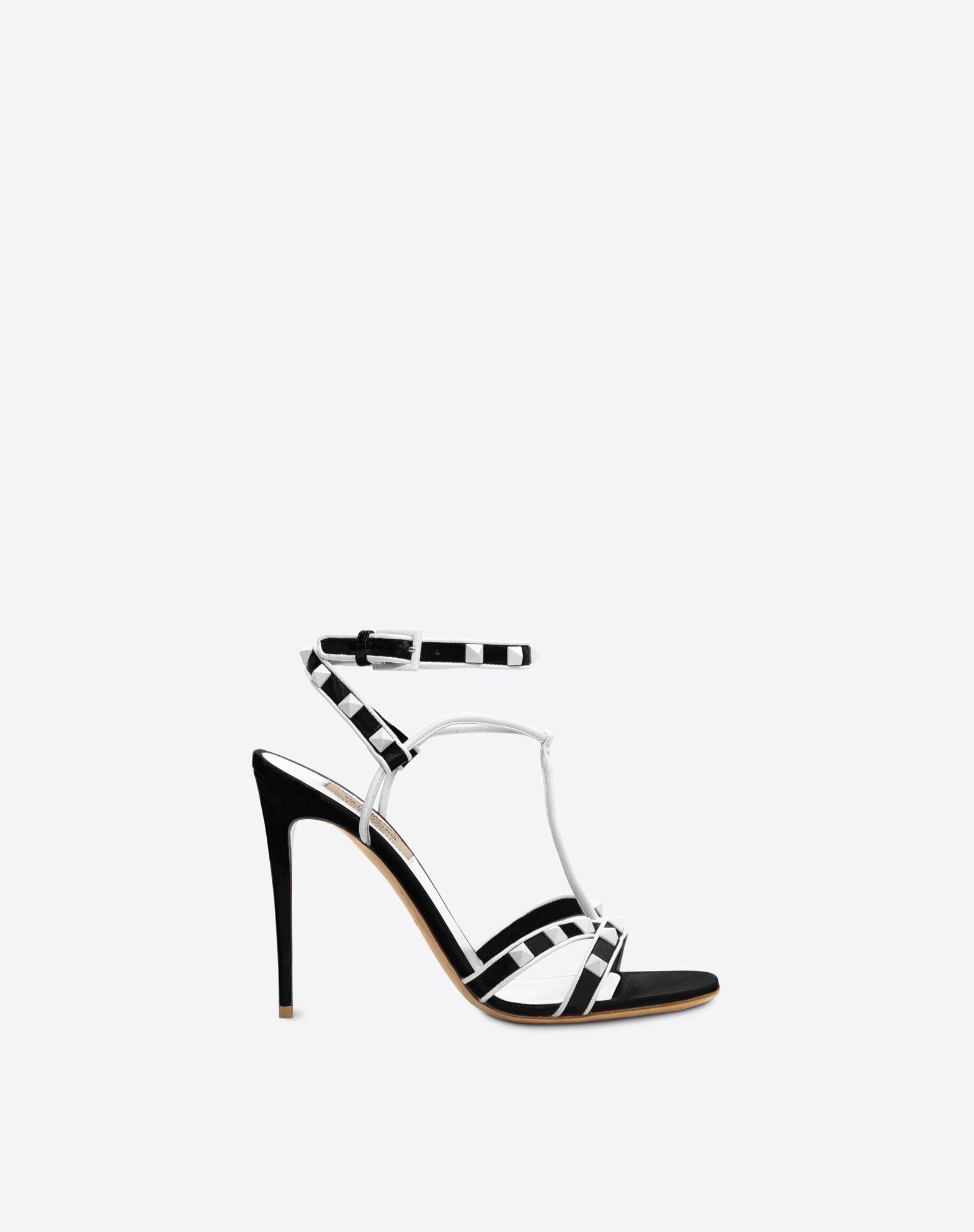 VALENTINO Free Rockstud 105mm Sandal Sandal D f