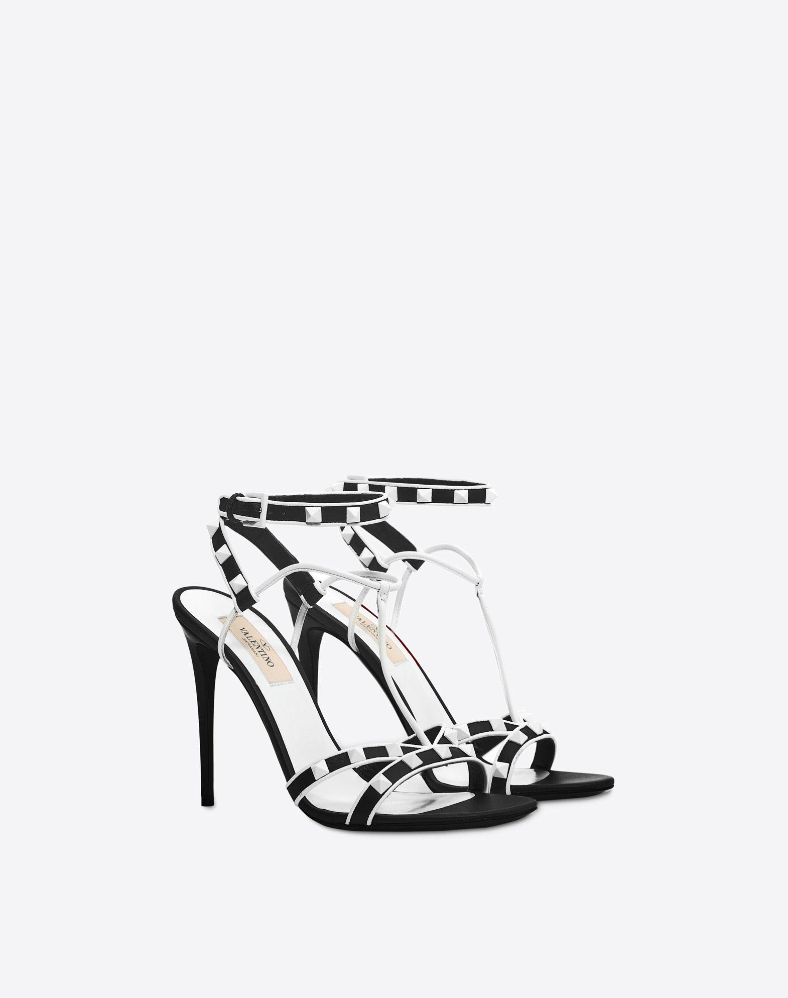VALENTINO Free Rockstud 105mm Sandal Sandal D r