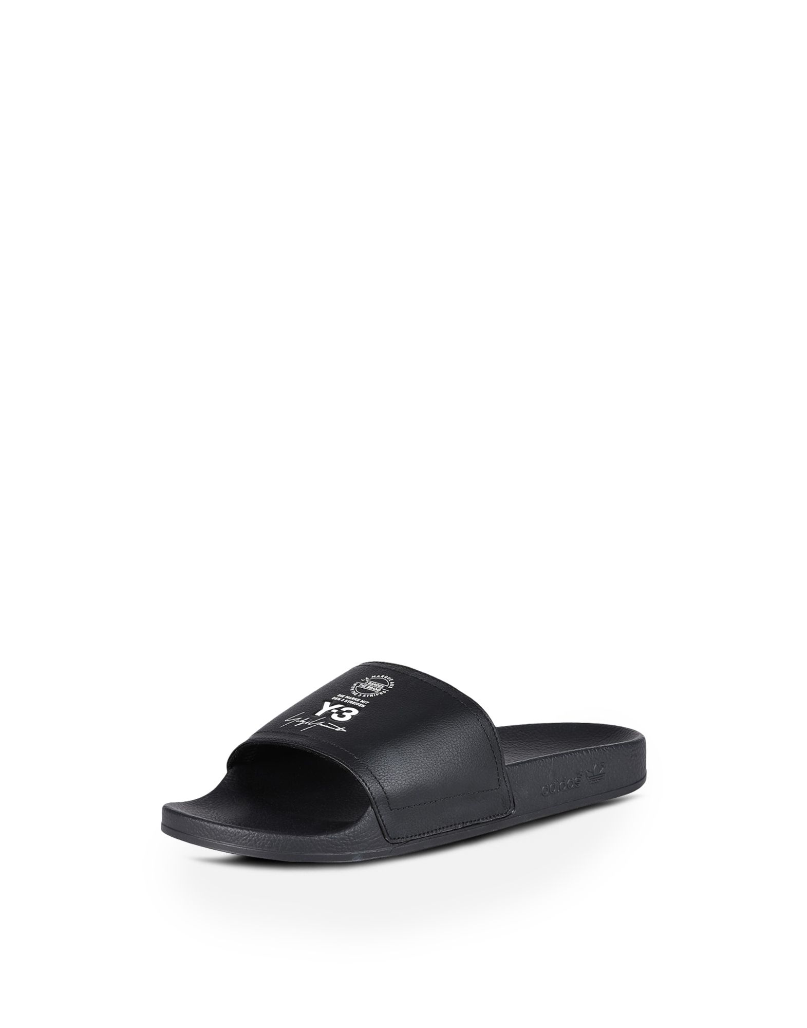 Latest Collections Online Y-3 Sandals ADILETTE leather Shopping Online Sale Online Free Shipping Looking For Free Shipping Sale Online 4S3ekn