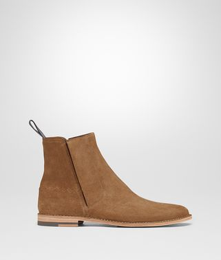 LIGHT CALVADOS SUEDE KEFFE ANKLE BOOT