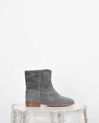 ISABEL MARANT BOOTS Woman CRISI suede ankle boots d