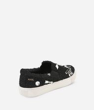 KARL LAGERFELD KUPSOLE Souvenir Pin Slip-on Sneakers Woman e