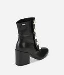 KARL LAGERFELD LAVINIA Leather Midi Boot with Pearls 8_e
