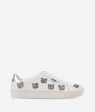 KARL LAGERFELD KUPSOLE Choupette Inlay Lace-up Sneakers Woman r