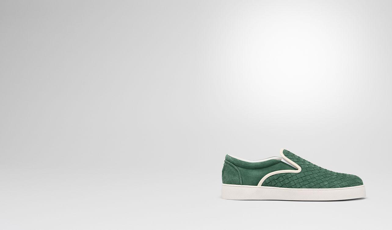thyme intrecciato suede dodger sneaker landing