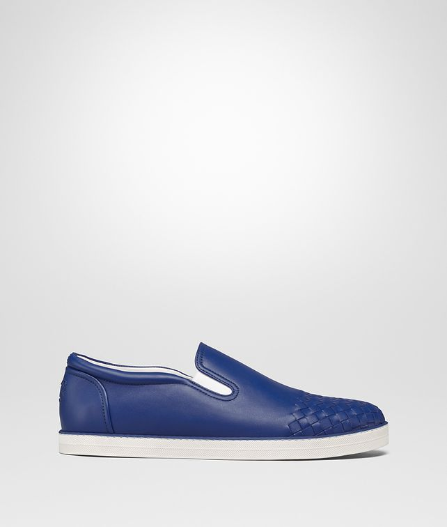 BOTTEGA VENETA SNEAKER SAIL IN VITELLO BLU COBALTO Sneakers Uomo fp