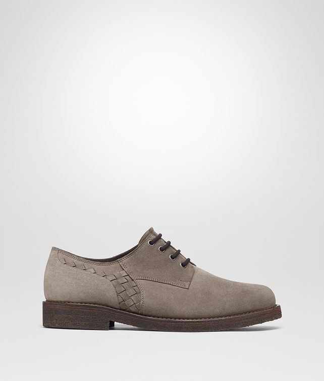 BOTTEGA VENETA STEEL SUEDE CURTIS SHOE Lace Up Man fp