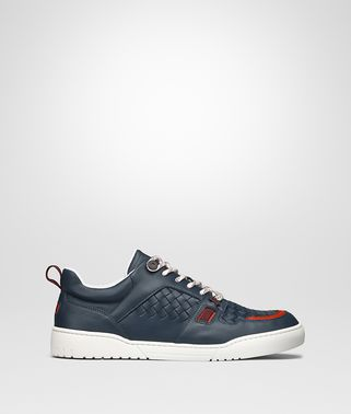 SNEAKER HEEZE IN INTRECCIATO VITELLO DENIM