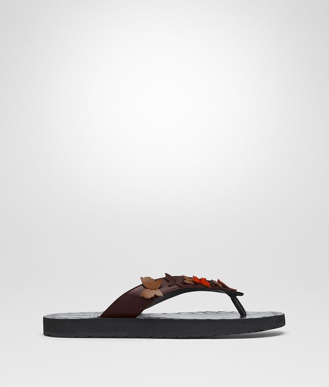 BOTTEGA VENETA MULTICOLOR CALF BUTTERFLY FLIP FLOP Sandals [*** pickupInStoreShipping_info ***] fp
