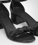 BOTTEGA VENETA NERO INTRECCIATO CALF KARUNG CHERBOURG SANDAL Sandals Woman ap
