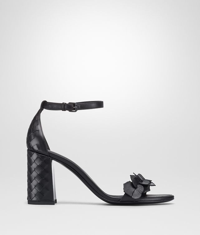 BOTTEGA VENETA NERO INTRECCIATO CALF KARUNG CHERBOURG SANDAL Sandals [*** pickupInStoreShipping_info ***] fp