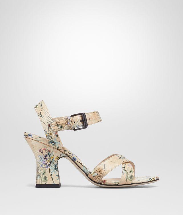 BOTTEGA VENETA BOTANICAL PRINT AYERS POLIGNAC MARY JANE Sandals Woman fp