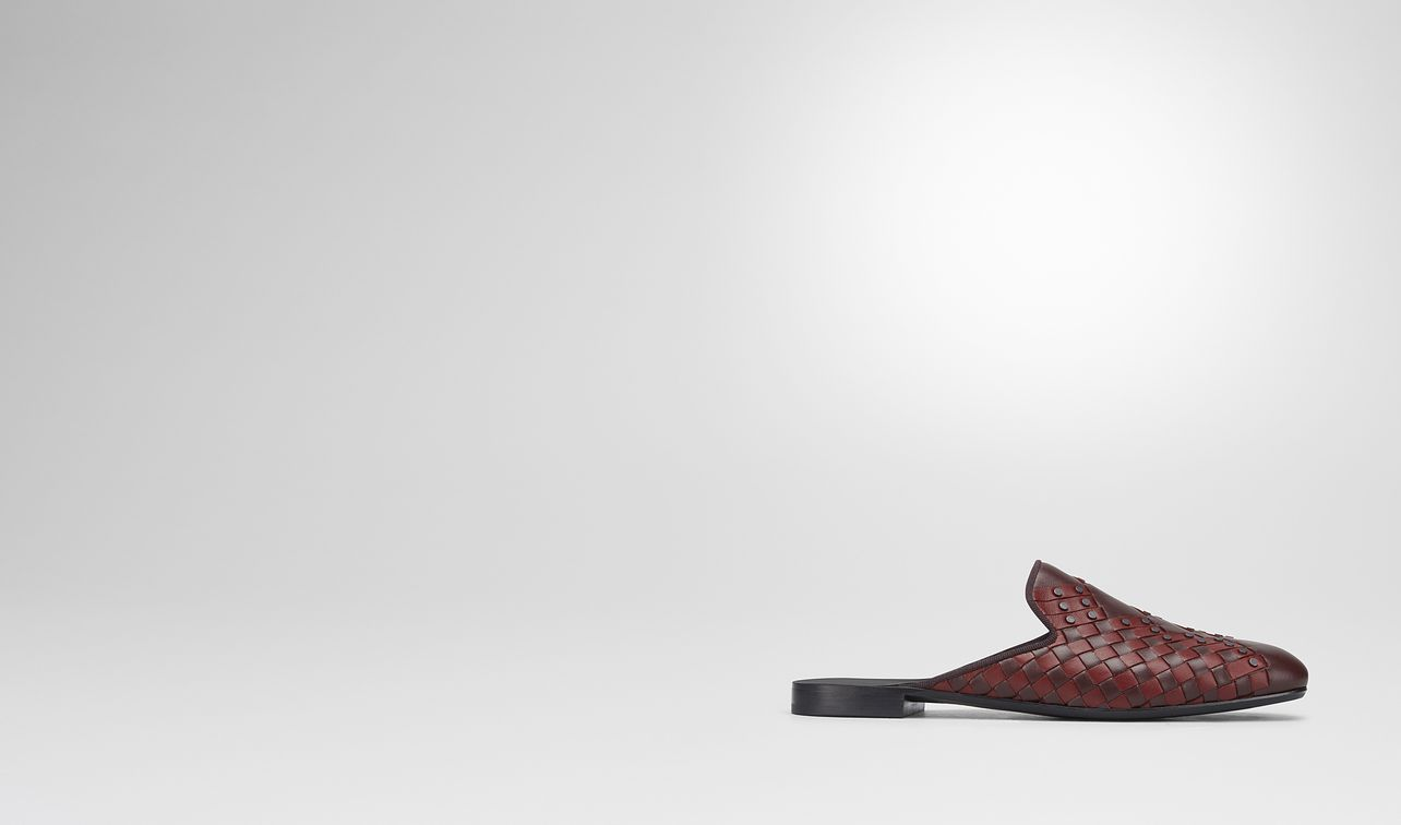 dark barolo intrecciato nappa fiandra slipper landing