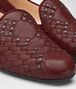 BOTTEGA VENETA GIGOLO RED INTRECCIATO NAPPA FIANDRA SLIPPER Flat Woman ap