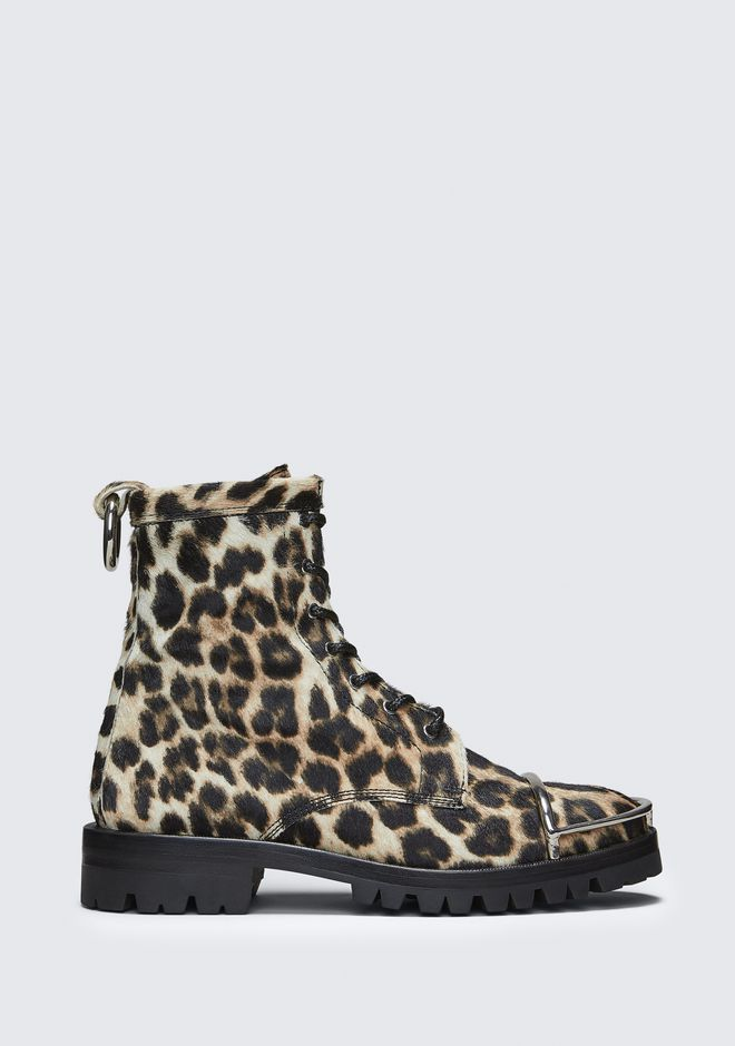 ALEXANDER WANG Boots Women LYNDON LEOPARD BOOT