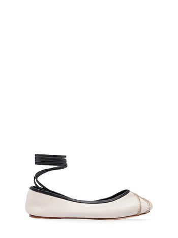 Marni Ballerina in leather Woman