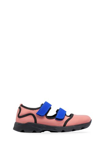 Marni Sneaker in pink technical fabric Woman