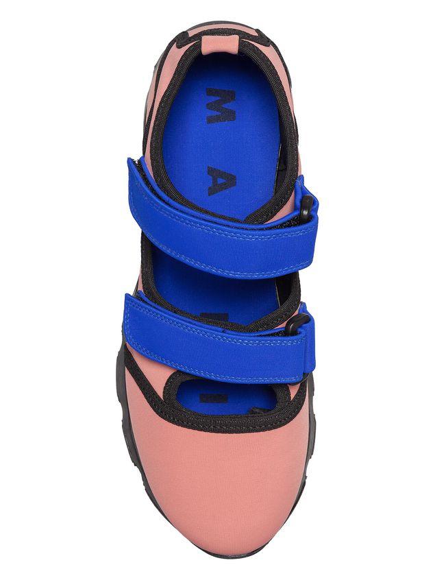 Marni Sneaker in techno fabric pink Woman - 4
