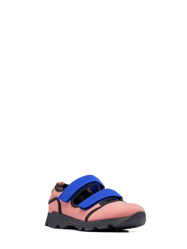 Marni Sneaker in techno fabric pink Woman - 2