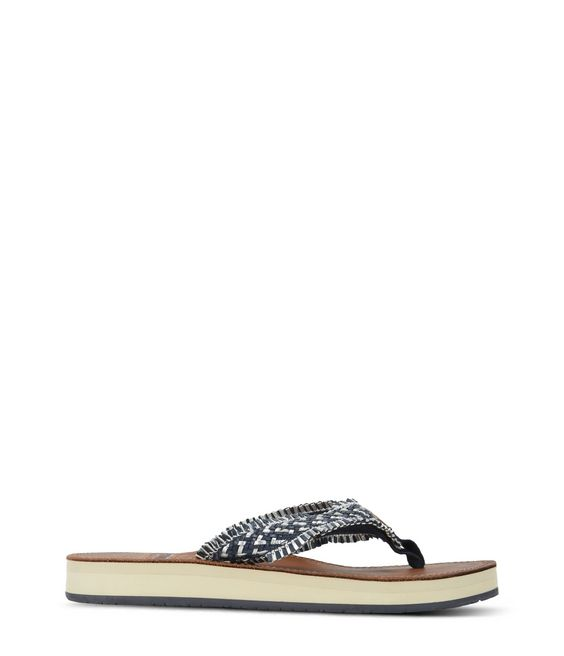 NAPAPIJRI ARIEL LEATHER Flip flops Woman f