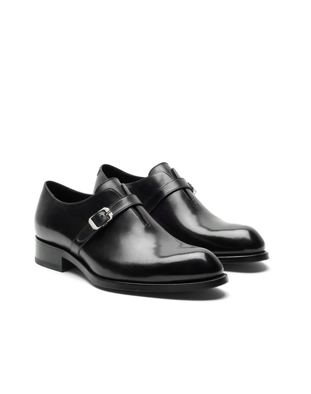BRIONI Black Wholecut Oxford Formal shoes U d