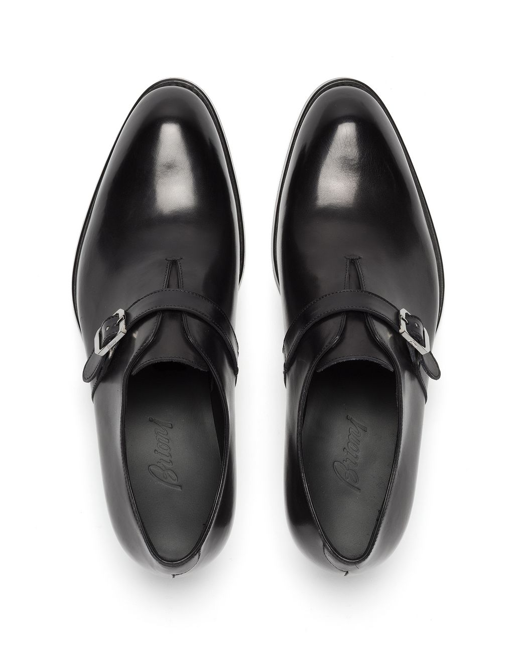 BRIONI Black Wholecut Oxford Formal shoes [*** pickupInStoreShippingNotGuaranteed_info ***] r