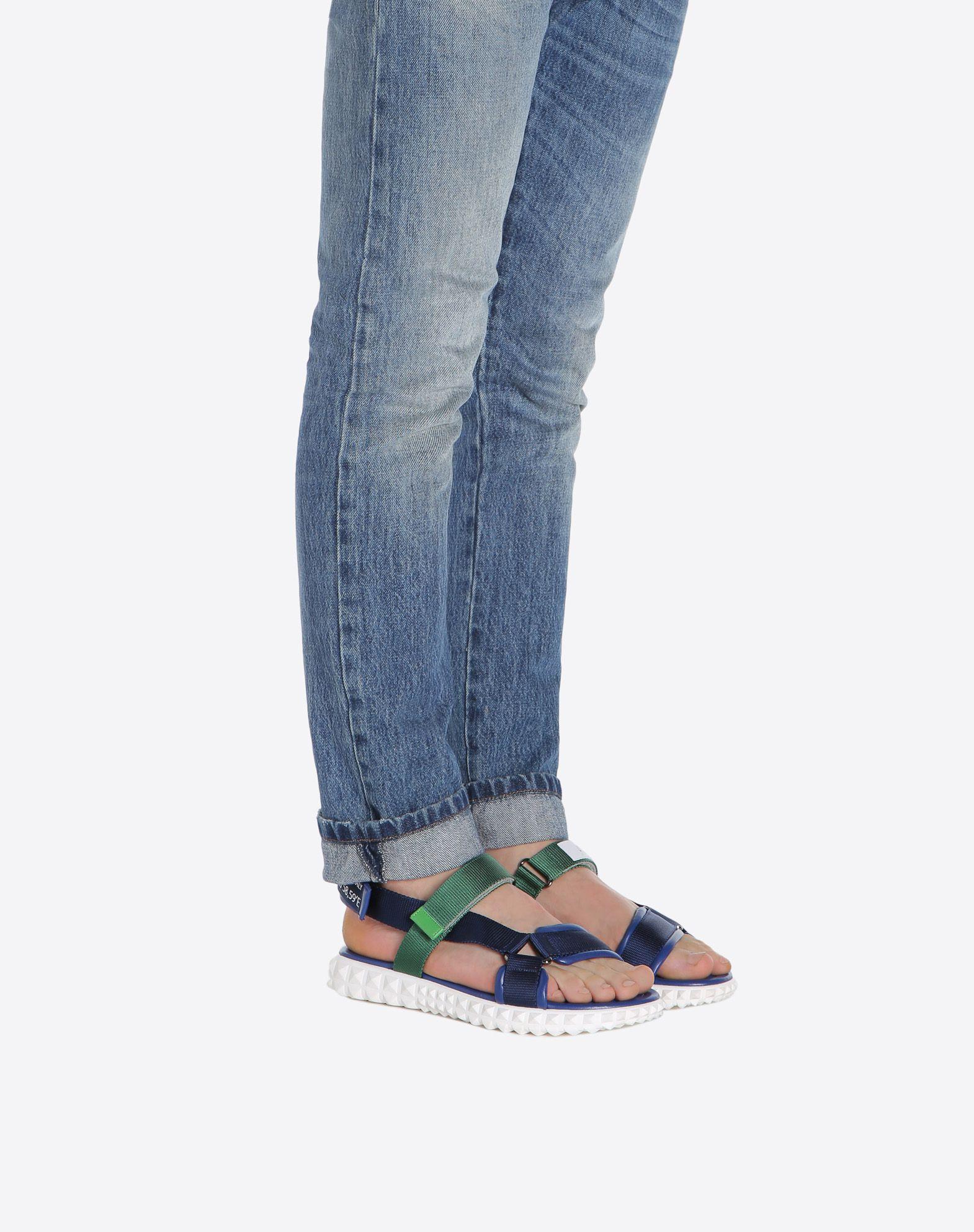 VALENTINO GARAVANI UOMO Coordinates 凉鞋 FLAT SANDALS U a