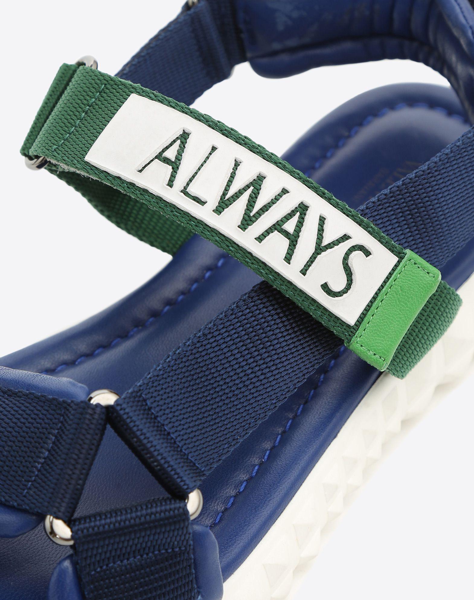 VALENTINO GARAVANI UOMO Coordinates 凉鞋 FLAT SANDALS U b