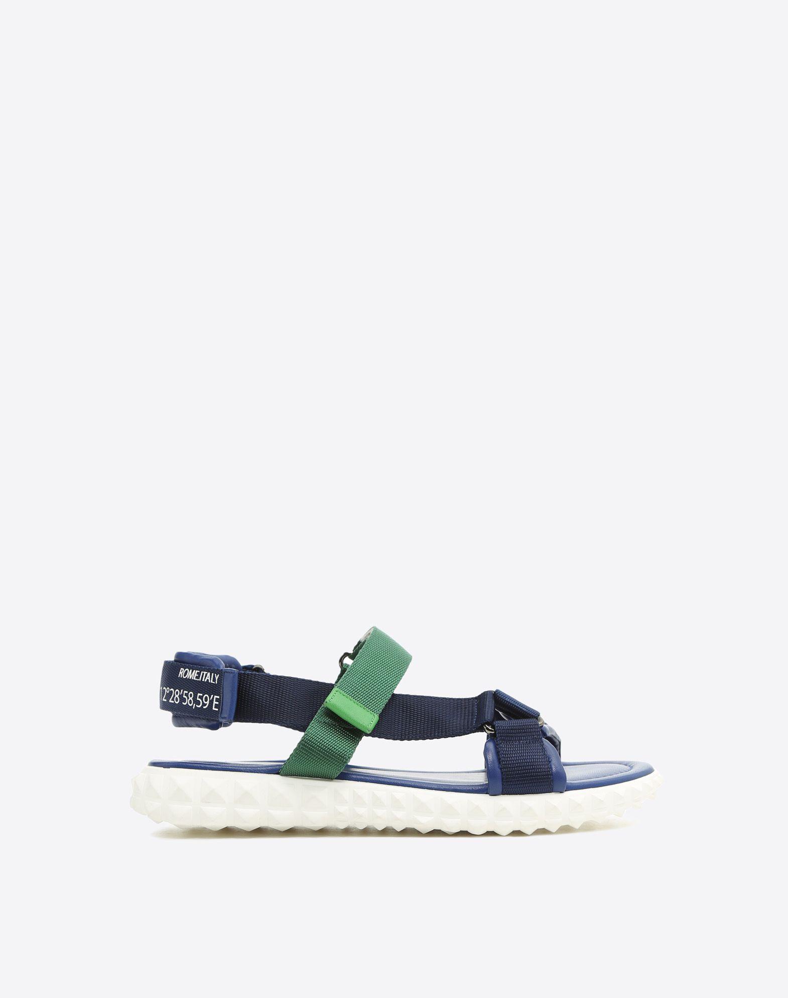 VALENTINO GARAVANI UOMO Coordinates 凉鞋 FLAT SANDALS U f
