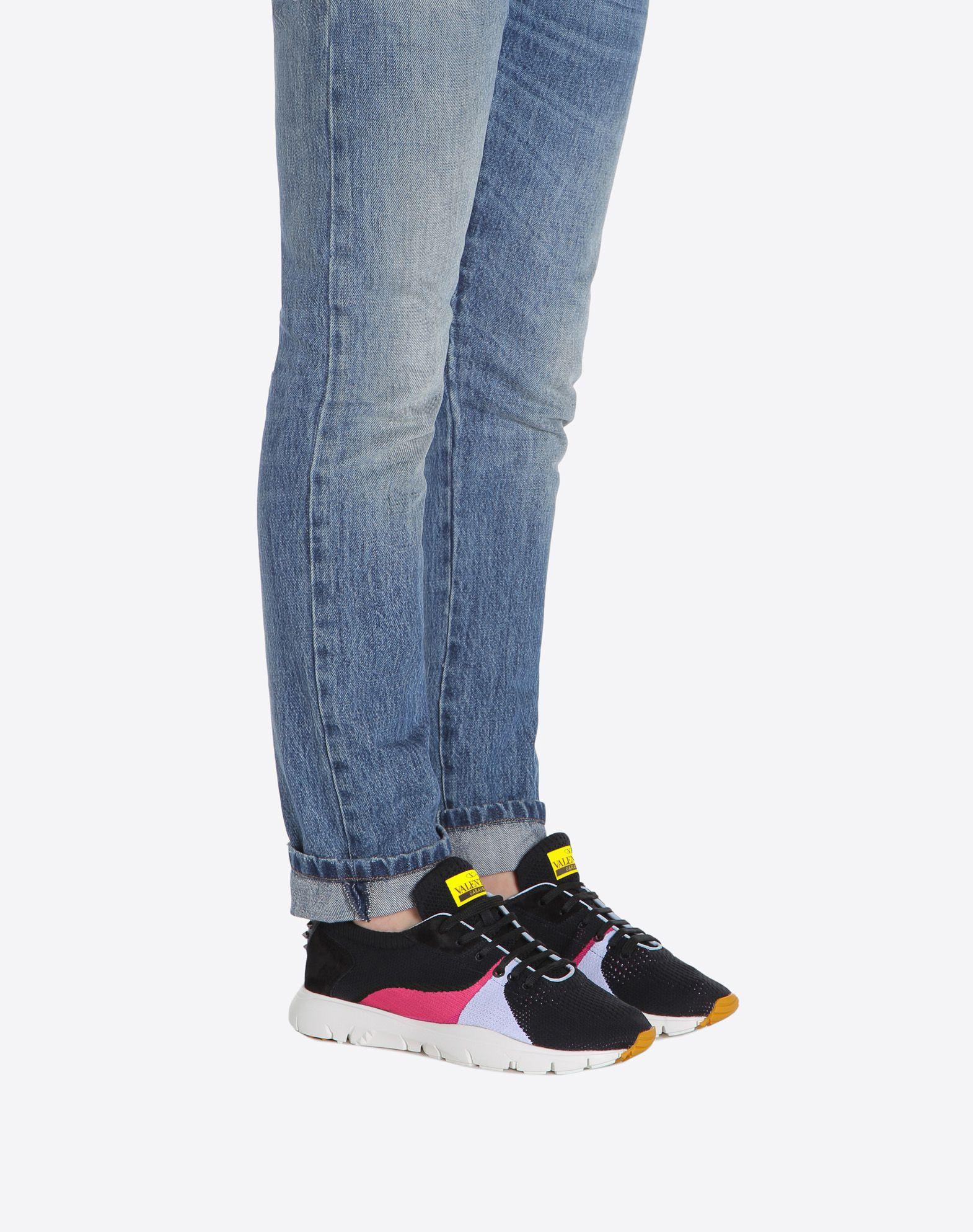 VALENTINO GARAVANI UOMO Sound Low Sneaker LOW-TOP SNEAKERS U a